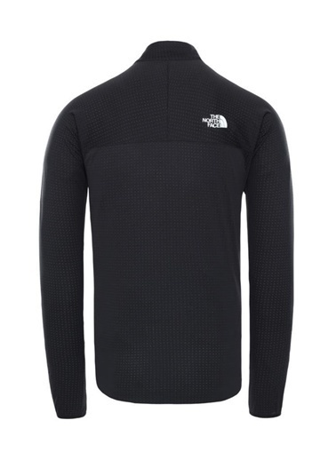 The North Face Summit Dot Fleece Yarım Fermuarlıerkek Sweatshirt Siyah Siyah